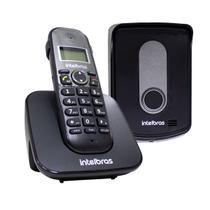 Telefone sem fio com ramal externo TIS 5010 Intelbras ST727 -
