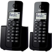 Telefone sem Fio Dect 6.0 Combo KX-TGB112LBB - Panasonic -