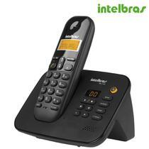 Telefone Sem Fio Digital Com Secretária Eletrônica TS 3130 4123130  Intelbras -
