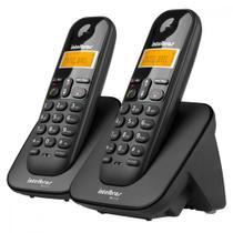Telefone sem Fio Digital Intelbras 1 Ramal com Identificador de Chamadas Preto - TS 3112 -
