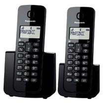 Telefone sem Fio Digital Panasonic Combo Preto KX-TGB112LBB -