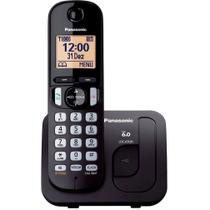 Telefone sem Fio Digital Panasonic KX-TGC210LBB - Panasonic -