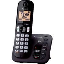 Telefone sem Fio Digital Panasonic KX-TGC220LBB com Secretária Eletrônica -