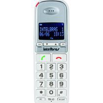 Telefone Sem Fio Digital TS63V Branco Intelbras -
