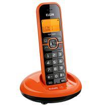 Telefone Sem Fio Elgin TSF 7600 Laranja -