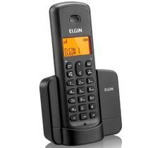 Telefone Sem Fio Elgin Tsf8001 Com Identificador Preto -