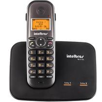 Telefone sem Fio Intelbras para Duas Linhas TS 5150 - Preto - 4125150 -
