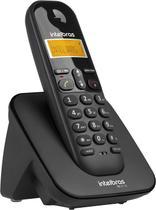 Telefone sem Fio Intelbras TS 3110 com Display luminoso, Identificador de Chamada e Tecnologia DECT 6.0 - Preto -