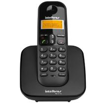 Telefone Sem Fio Intelbras TS 3110 Preto 1,9 GHz DECT 6.0 -