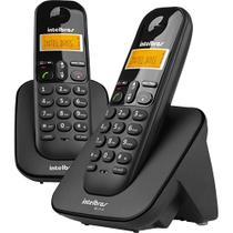 Telefone Sem Fio Intelbras TS 3112 de Mesa 1 Ramal - com Identificador de Chamadas Preto -