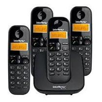 Telefone sem fio intelbras ts 3113 mais 2 ramais -