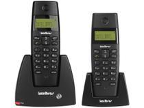 Telefone sem Fio Intelbras TS 40 C + Ramal - Identificador de Chamadas Sinalizador de LED Preto -