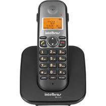 Telefone Sem Fio Intelbras TS 5120 Preto com Viva Voz, Identificador de Chamada e Tecnologia DECT 6. -