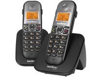 Telefone Sem Fio Intelbras TS 5122 com Ramal Preto -