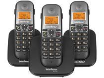 Telefone Sem Fio Intelbras TS 5123 + 2 Ramais - Identificador de Chamada Viva Voz Conferência