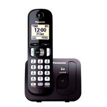 Telefone Sem Fio KX-TGC210LBB Panasonic -