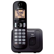 Telefone sem Fio KX-TGC210LBB Preto Dect 6.0, Viva-Voz - Panasonic -