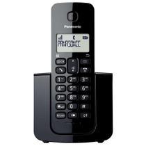 Telefone sem fio kxtgb110lbb dect 6.0 preto panasonic -
