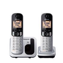 Telefone Sem Fio Panasonic Base e Ramal KX-TGC212LB1 - Cinza -