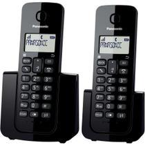 Telefone Sem Fio Panasonic DECT6 KX-TGB112LBB 110/220V PT -