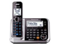 Telefone Sem Fio Panasonic Identif. de Chamadas - Bluetooth Expansível 6 Ramais - KX-TG7841LBS