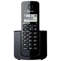 Telefone Sem Fio Panasonic KX-TGB110 com DECT/Identificador de Chamadas - Preto -