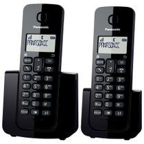 Telefone Sem Fio Panasonic Kx-tgb112 Lbb Com Ramal -