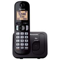 Telefone Sem Fio Panasonic Kx-Tgc210lbb Preto Dect 6.0, Viva Voz -