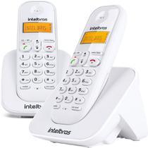 Telefone sem fio + ramal adicional TS 3112 Intelbras Branco -