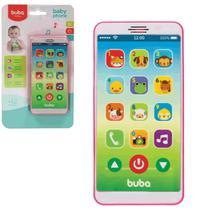 Telefone Smartphone Infantil Baby Phone Rosa Buba - Buba Baby