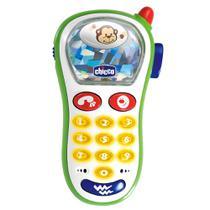 Telefone Vibra e Capta com 10 Sons - Macaco - Chicco -