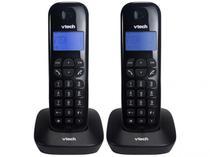 Telefone VTECH VT680 sem Fio +1 Ramal MRD2 ID Digital Preto -