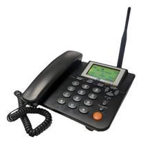 Telefone Zona Rural Celular Fixo Mesa Gsm Chip ZTE WP623 -