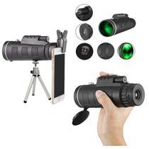 Telescopio portatil luneta de mao visao noturna com adaptador para celular ampliacao 12x profissional - GIMP