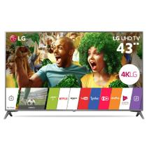 Televisor Smart LED 43 LG 4K/Ultra HD 43UJ6565 WebOS Conversor Digital