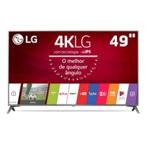 "Televisor Smart LED 49"" LG 4K/Ultra HD 49UJ6565 WebOS Conversor Digital -"