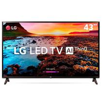 "Televisor Smart TV LED 43"" LG 43LK5750 Full HD Wi-Fi HDR Inteligência Artificial Conversor Digital -"
