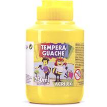 Tempera Guache Amarelo Ouro Acrilex 250ml -