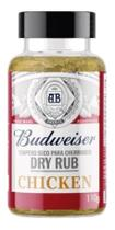 Tempero Carne Frango  Churrasco  Budweiser Dryrub Chicken 110g -