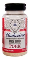 Tempero Carne Porco Churrasco Budweiser Dry Rub Pork 110g -