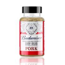 Tempero seco para churrasco budweiser dry rub pork 110g -