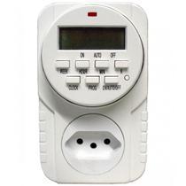 Temporizador Digital de Tomada Bivolt 6610 DNI -
