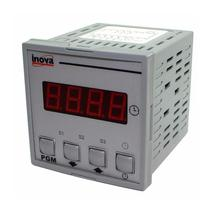 Temporizador Digital INV-20401 85-250VCA 75X75MM Inova -