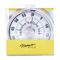 Temporizador ou Timer magnético inox - Mimo Style -