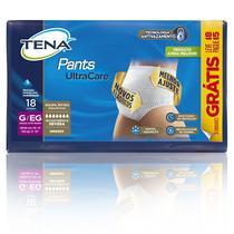 Tena pants ultra tam g/eg - kit 4 pacotes c/18 unids (72 unids/fardo) -
