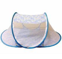 Tenda cercadinho portátil mosquiteiro azul - Color baby