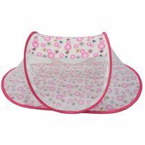Tenda cercadinho portátil mosquiteiro rosa - Color baby