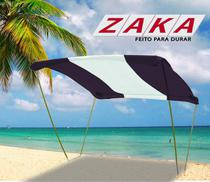 Tenda Gazebo Riviera Praia Camping Jardim 2,3m x 2,3m - Zaka -