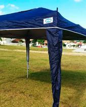 Tenda Gazebo Sanfonada X-Flex Azul 3x3m - Mor