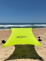 Tenda Muhara Gazebo Barraca Sol Praia Camping Leve Prático Rápido Montar Alumínio -
